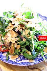 Arugula & Mushroom Salad