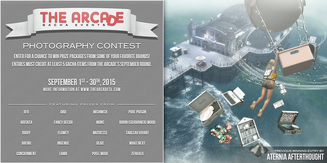 The Arcade Photography Contest - September, 2015