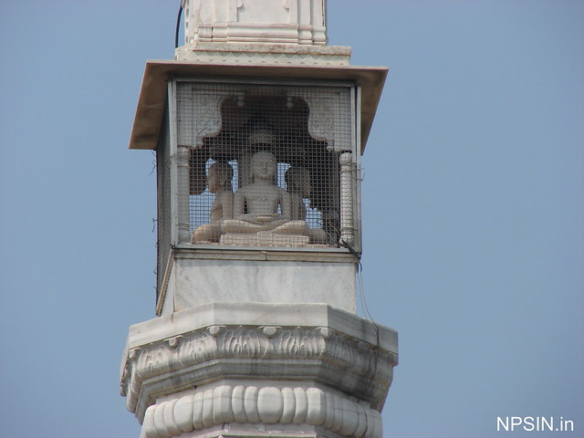 Bhagwan Adinath Ji in all four direction on Manasthamb Shikhar