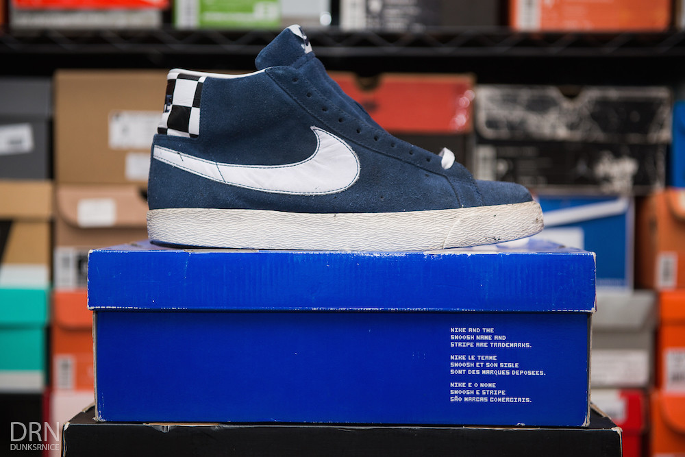 Navy Checker Blazer SB's.