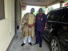 Crown Prince Leke Oyinlola in Idoani (Picture of The Week 08-28-2015)