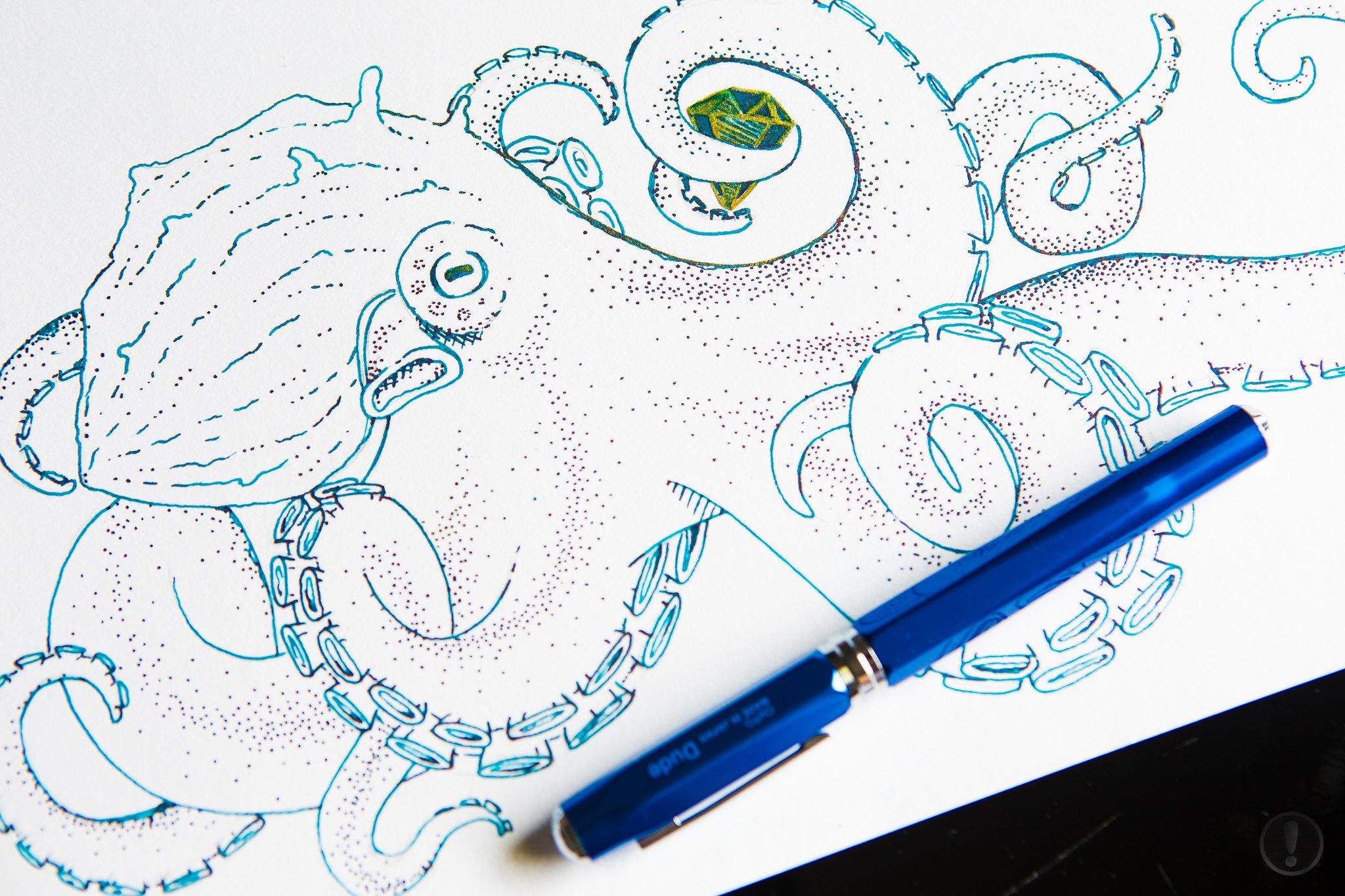 Geekhack Handwriting Thread And Fountain Pen Circuit Board Rollerball Ink Nerd Gift