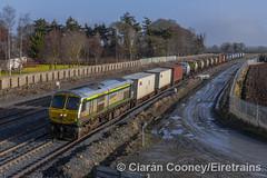 IE 215 Dublin-Ballina IWT Liner, Stacumny