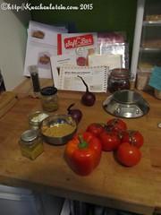 ©Slow Cooking bei unverpackt in Kiel Zutaten Afrika-Huhn