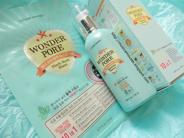 Etude House Wonder Pore Tightening Essence Black Mask