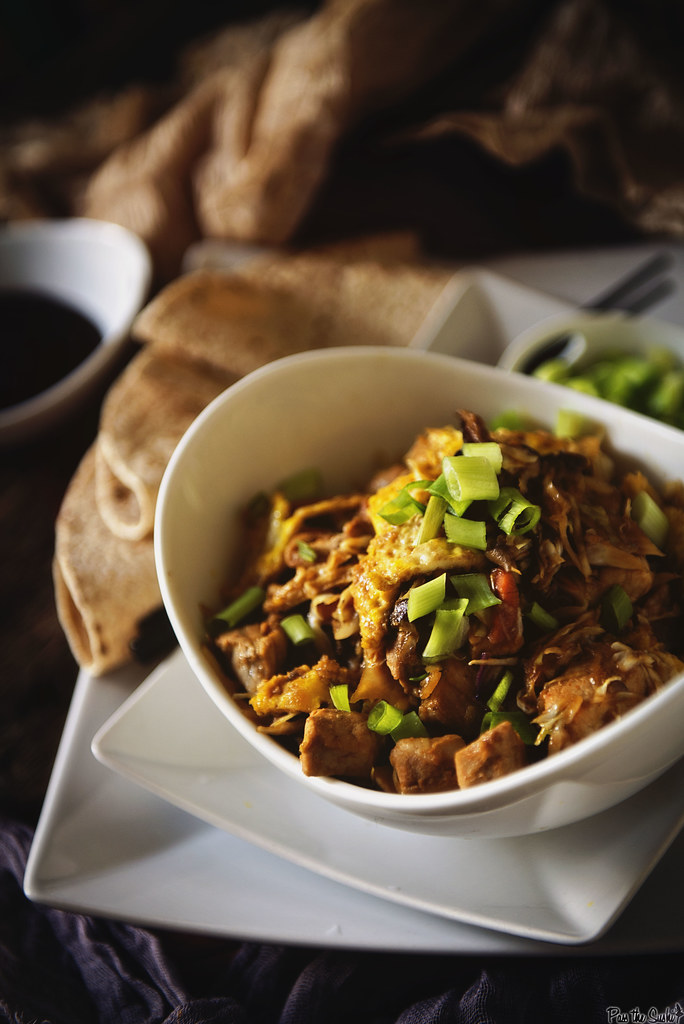 Moo Shu Pork Stir Fry a quick weeknight recipe for fake out take out \\ GirlCarnivore.com