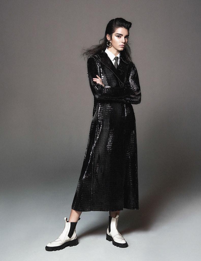 Кендалл Дженнер — Фотосессия для «Vogue» FR 2015 – 2