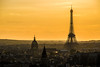 Electric Mist Over Paris by Cloudwhisperer67