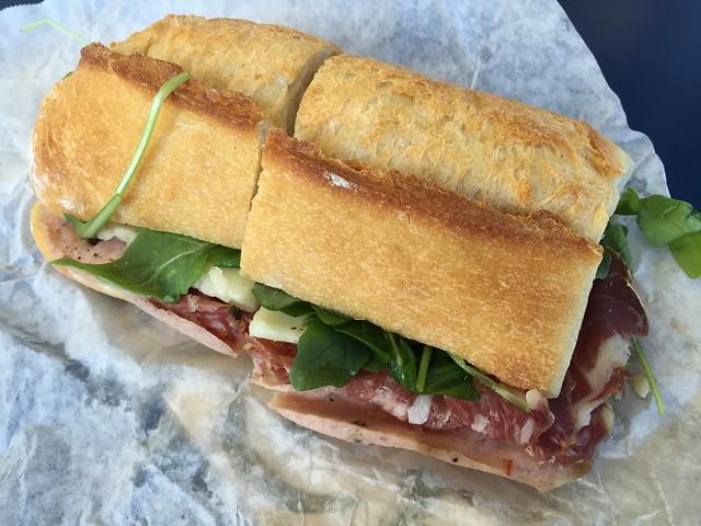 Boccalone combo sandwich - Boccalone