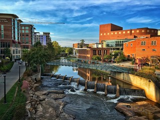 iPhone 6s shot of Greenville, SC. This place has been my home for the last few years. Although I have enjoyed living here, I miss living in the mountains of NC, but lucky for me it's not too far of a drive back to those mountains