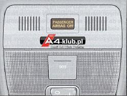 70944 - Instalacja przełącznika deaktywacji poduszki pasażera AIR BAG OFF - 2