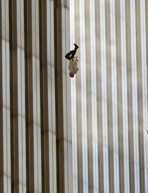 The Falling Man, a photo taken by Richard Drew during September 11 Attacks