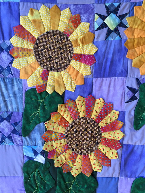 with quilts paint sip autumn indoor barn lynette quilt sunflower