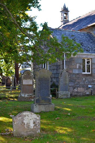 Another shot of the stone in Kinloch Rannoch cemetery