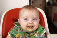 Eating peas