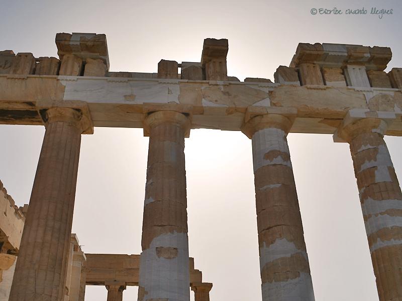 Columnas del Partenón