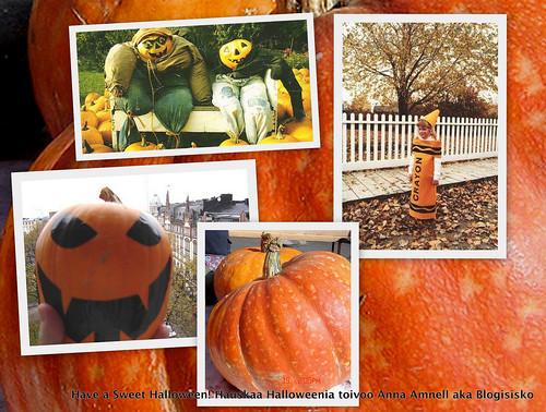 Have a Sweet Halloween! Kivaa kurpitsajuhlaa!