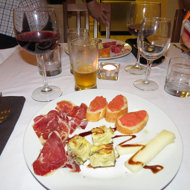Tapas during Saturday Dinner at Captain's Inn
