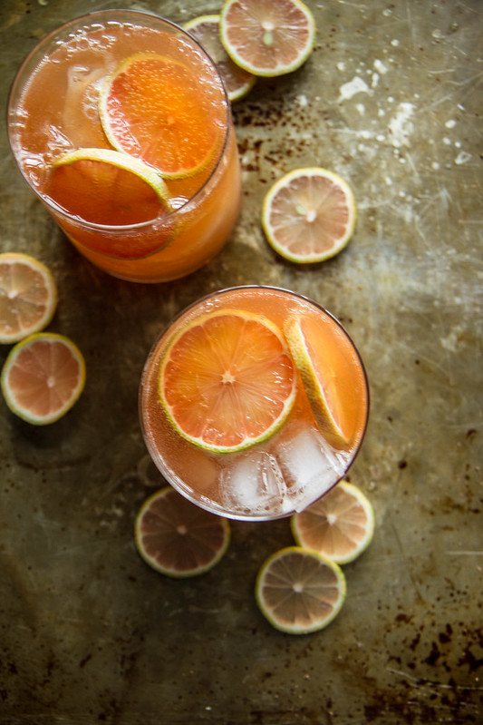 Grapefruit Whiskey SOur