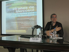 Panorama Internacional FEE | 2ª edição - Painel 25 anos do Mercosul - dez/2015 - André Reis