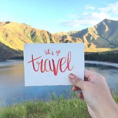 Let's go Travel 😊☀️🌊 #brushlettering #handtype #moderncalligraphy #goodtype #ceesevenmarz #thegreatoutdoors #travelPH
