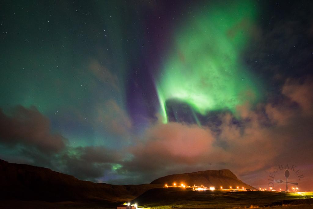 aurora at Olafsvik