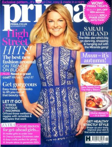 PRIMA Magazine - November 2015 - Cover