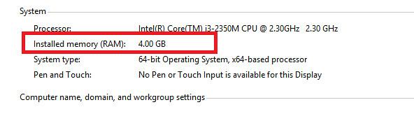 Cách kiểm tra dung lượng ổ cứng, RAM của máy tính