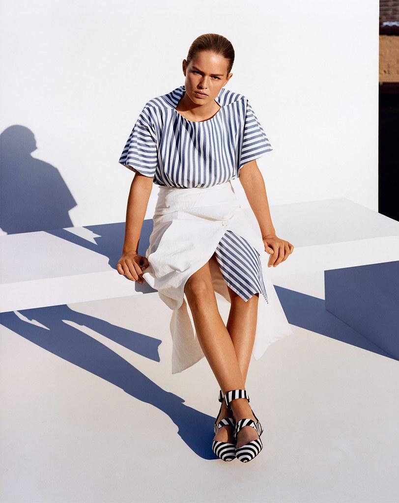 Анна Эверс — Фотосессия для «Vogue» UK 2015 – 5