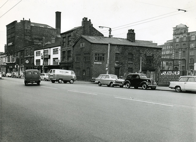 Great Ancoats Street and Redhill Street, 1965