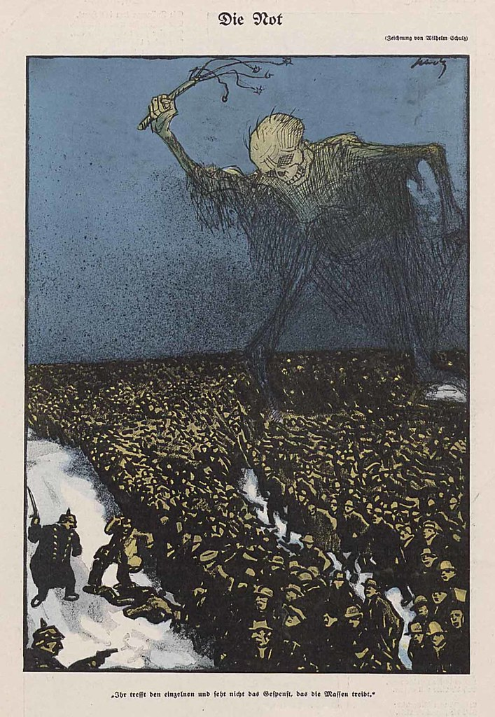 Wilhelm Schulz -  The Misery, 1908