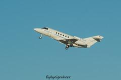 D-CXNL Raytheon Hawker 800XP H25P > JTI JetAir Flug