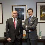 Visita de Ministro de Comercio Exterior y Turismo del Perú 2016