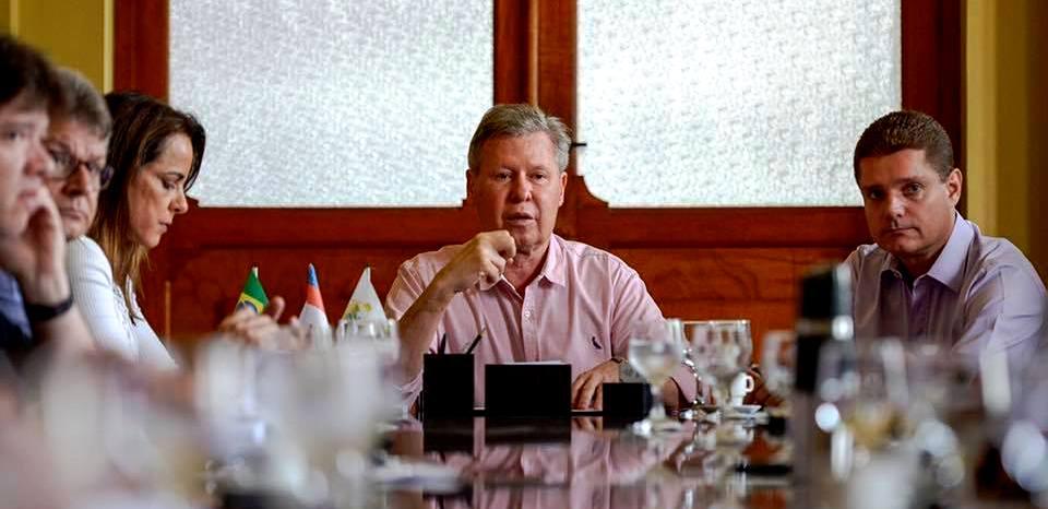 """""""Se o PSDB continuar como está, nem vai para o segundo turno"""", diz Arthur Virgílio, arthur virgílio"""