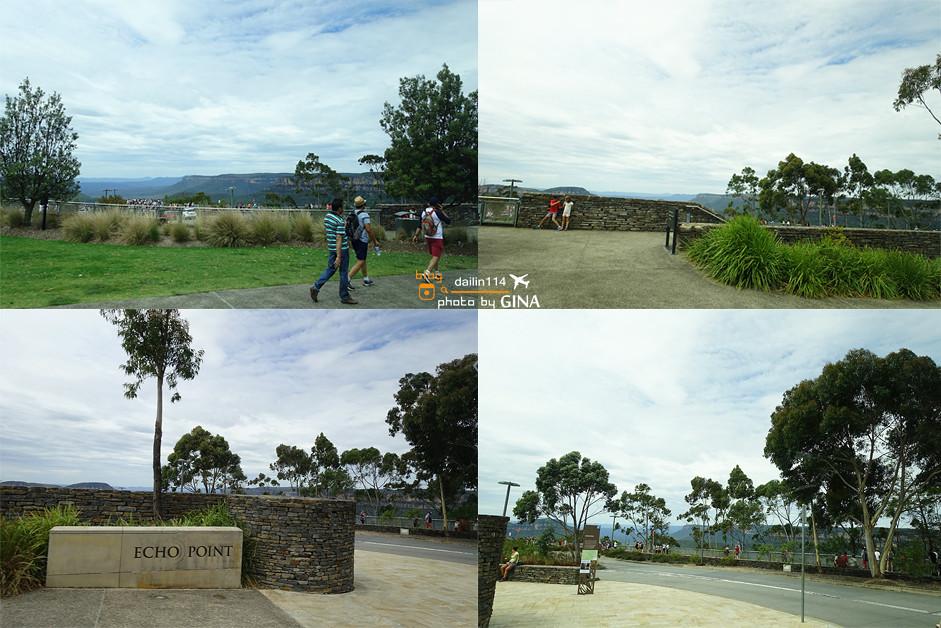 【澳洲必去景點】雪梨藍山一日遊(Blue Mountains)三姊妹峰|Leura小鎮喝早茶|景觀纜車|超陡景觀鐵道火車|超多汁牛肉三明治 @GINA環球旅行生活