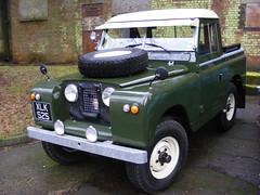 Land Rover, XLK525,  Bicester Heritage Sunday Scramble. 08.01.2017