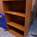 Cherry open fronted storage unit
