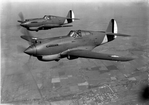 Curtiss P-40 Warhawk 29th September 1940.