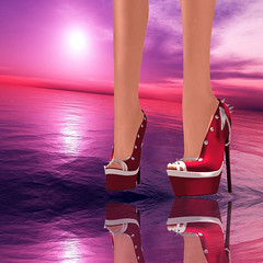 Plume Shoes ***Lucky Night***