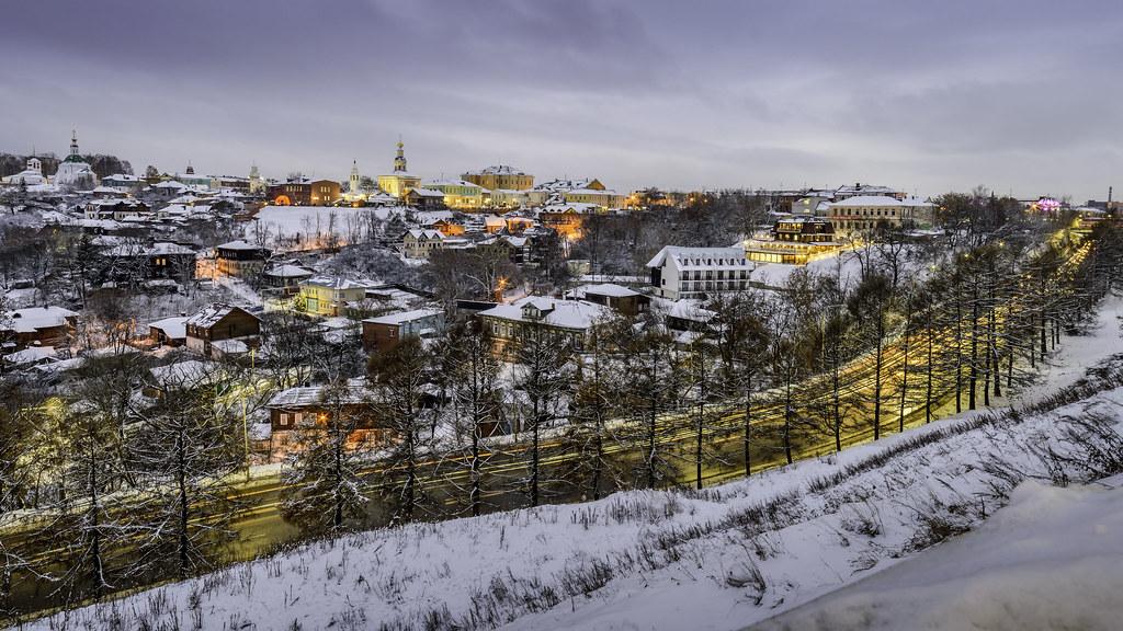Зимний вечер, Владимир - Winter evening, Vladimir