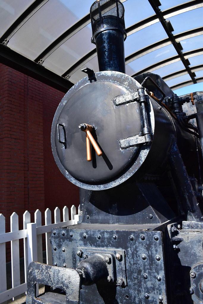 軽便鉄道に使われていた蒸気機関車
