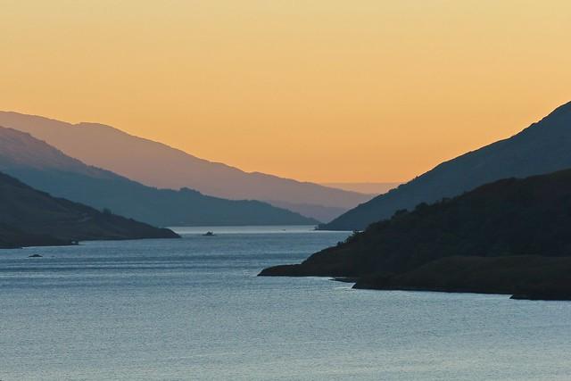 Scottish Highland Sunset