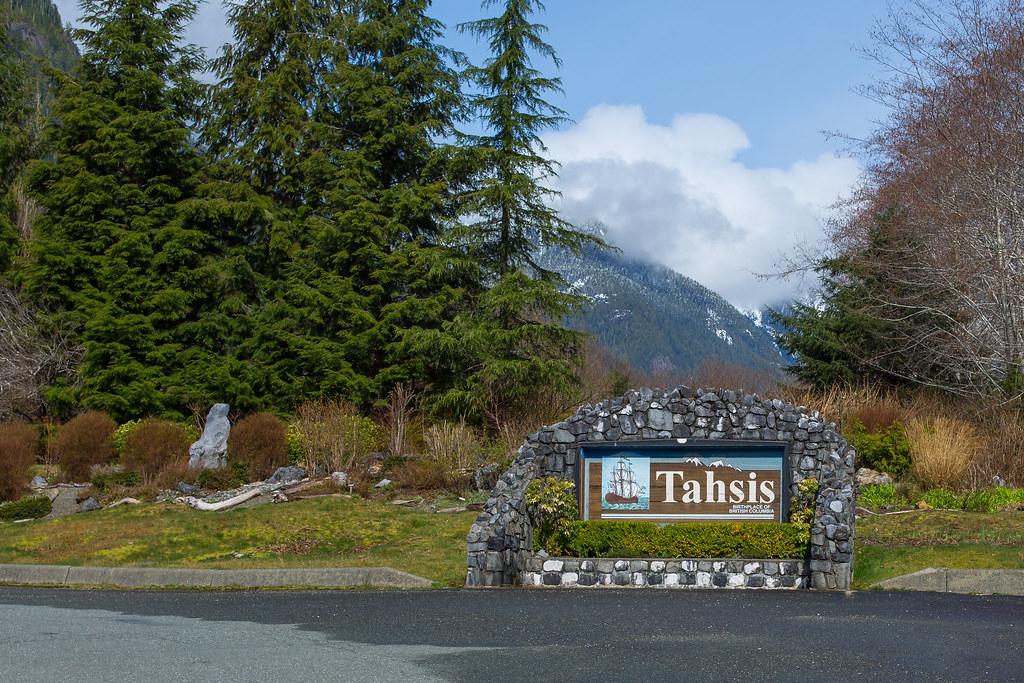 Vancouver Island. Tahsis
