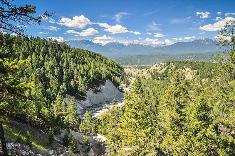 Kootenay National Park, Rocky Mountains, BC Rockies, British Columbia.