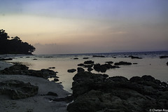 Evening colors in Andamans