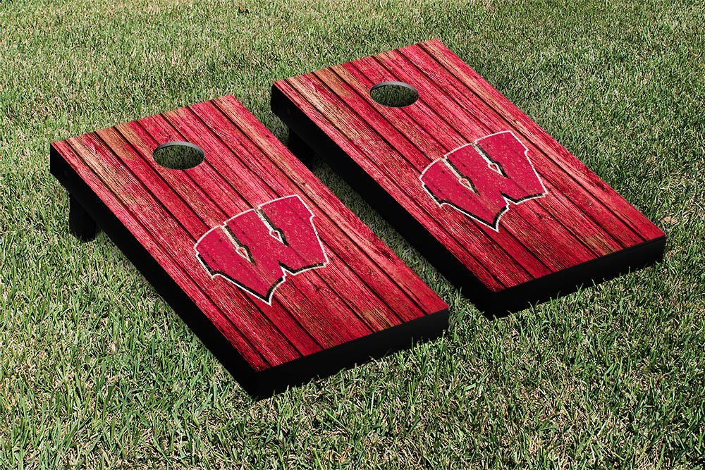 Wisconsin Badgers Weathered Version