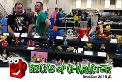 Bricks of Character: BrickCon 2015