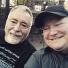 Jerry and I at Columbia #Atheists Wed