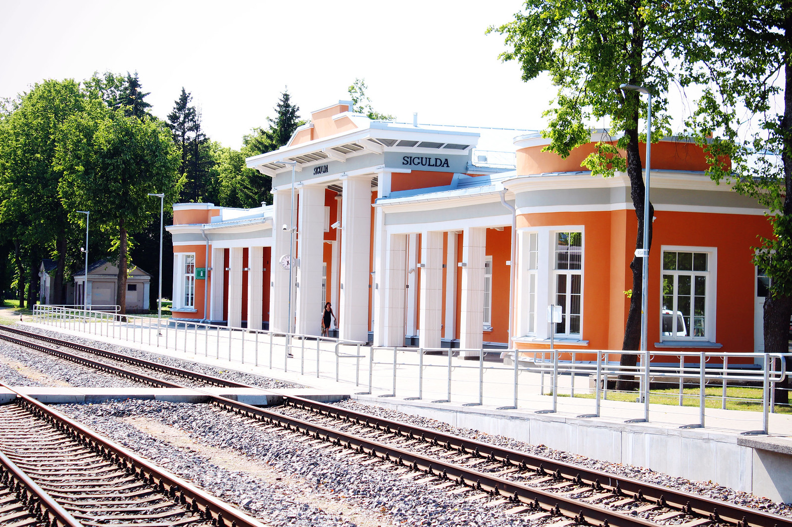 sigulda-train-station