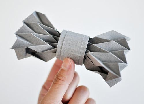 Fiber Lab Origami Bow Tie